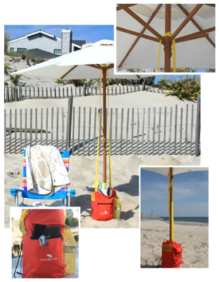 Bags Provide A Similar Funtion To Beachbub They Weigh The Umbrella Down Shade Anchor Bag And Jet Lock Are Just Two Of Many Available